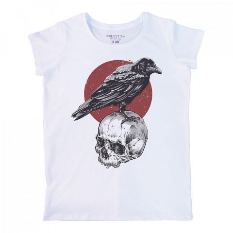 Crown Nest baskılı tasarım tişört. %100 pamuklu baskılı bayan tişört. Presstish tasarım baskılı tişört çeşitleri. Hediyelik kadın tişört. Tişört baskı. Baskılı tshirt.