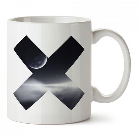 Ex tasarım baskılı porselen kupa bardak (mug). Presstish marka resimli hediyelik kupa bardak modeli. Tasarım kahve kupası. Baskılı mug.