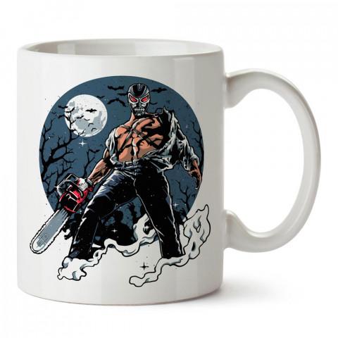 Sleepyhead Pruner uyuyanların katili baskılı tasarım porselen kupa bardak (mug). Presstish marka resimli hediyelik kupa bardak modeli. Tasarım kahve kupası. Baskılı mug.
