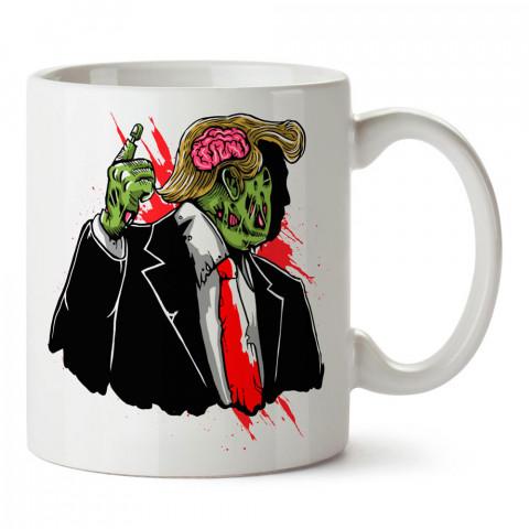 Fatal Virüs Ölümcül Virüs baskılı tasarım porselen kupa bardak (mug). Presstish marka resimli hediyelik kupa bardak modeli. Tasarım kahve kupası. Baskılı mug.