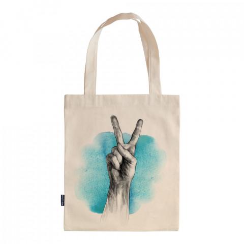 Blue Peace tasarım baskılı ham bez çanta. 35x41. Hediyelik bez çanta modelleri. En güzel bez çantalar. Dayanıklı, modaya uygun bez çantalar. Organik baskılı bez çanta.