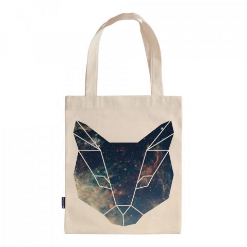 Space Cat tasarım baskılı ham bez çanta. 35x41. Hediyelik bez çanta modelleri. En güzel bez çantalar. Dayanıklı, kedili bez çantalar. Organik baskılı bez çanta.