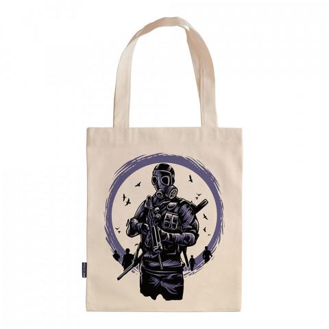 Toxic Dawn tasarım baskılı ham bez çanta. 35x41. Hediyelik bez çanta modelleri. En güzel bez çantalar. Dayanıklı, modaya uygun bez çantalar. Organik baskılı bez çanta.