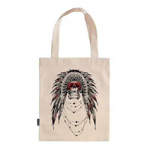 Ornate Skull tasarım baskılı ham bez çanta. 35x41. Hediyelik bez çanta modelleri. En güzel bez çantalar. Dayanıklı, kafatası baskılı bez çanta. Organik baskılı bez çanta.