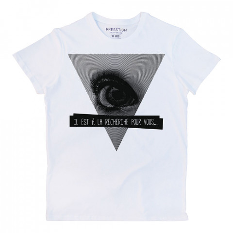 Finder fransızca baskılı tasarım tişört. %100 pamuklu baskılı tişört. Presstish organik erkek tasarım baskılı tişört çeşitleri. Hediyelik tasarım tshirt. Tişört baskı.