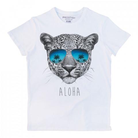 Aloha baskılı tasarım tişört. %100 pamuklu baskılı tişört. Presstish organik erkek tasarım baskılı tişört çeşitleri. Hediyelik tasarım tshirt. Tişört baskı.