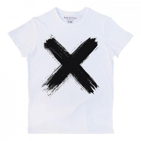 Mortal Sign baskılı tasarım tişört. %100 pamuklu baskılı tişört. Presstish organik erkek tasarım baskılı tişört çeşitleri. Hediyelik tasarım tshirt. Tişört baskı.