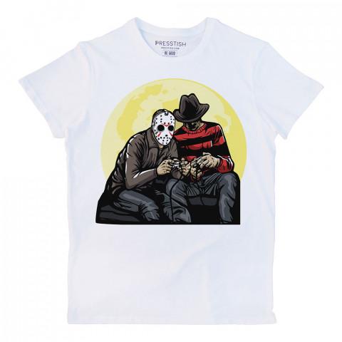 Time Killers baskılı tasarım tişört. %100 pamuklu baskılı tişört. Presstish organik erkek tasarım baskılı tişört çeşitleri. Hediyelik tasarım tshirt. Tişört baskı.