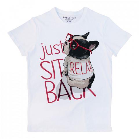 Be Relax Bro baskılı tasarım tişört. %100 pamuklu baskılı tişört. Presstish organik erkek tasarım baskılı tişört çeşitleri. Hediyelik tasarım tshirt. Tişört baskı.