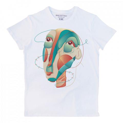 Anatomy Of Madness baskılı tasarım tişört. %100 pamuklu baskılı tişört. Presstish organik erkek tasarım baskılı tişört çeşitleri. Hediyelik tasarım tshirt. Tişört baskı.