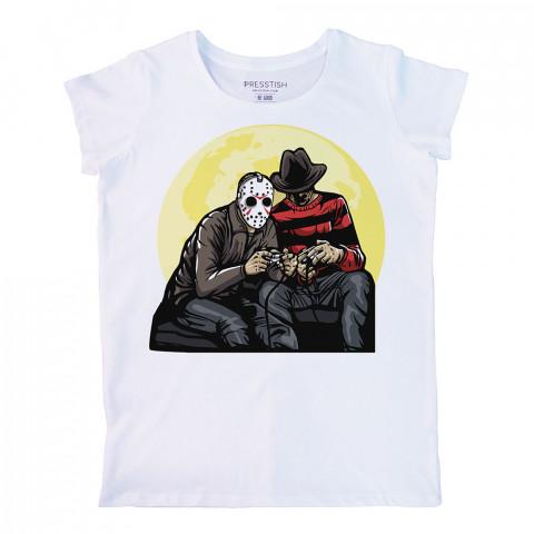 Time Killers baskılı tasarım tişört. %100 pamuklu baskılı bayan tişört. Presstish tasarım baskılı tişört. Hediyelik kadın tişört. Tişört baskı. Baskılı tasarım tshirt.