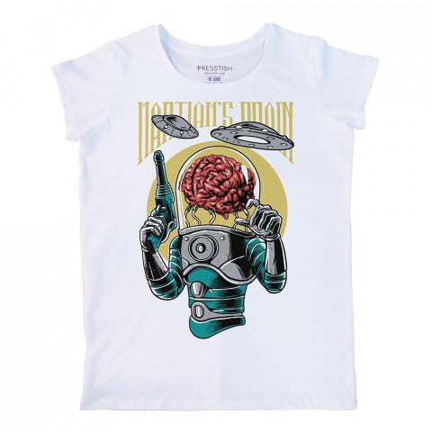 Brain Infestation baskılı tasarım tişört. %100 pamuklu baskılı bayan tişört. Presstish tasarım baskılı tişört. Hediyelik kadın tişört. Tişört baskı. Tasarım tshirt.