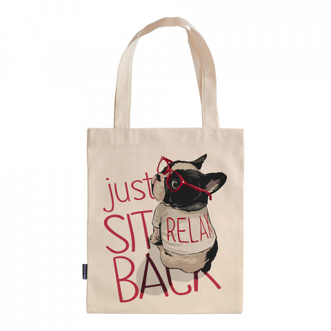 Be Relax Bro tasarım baskılı ham bez çanta. 35x41. Hediyelik bez çanta modelleri. En güzel bez çantalar. Dayanıklı, modaya uygun bez çantalar. Organik baskılı bez çanta.