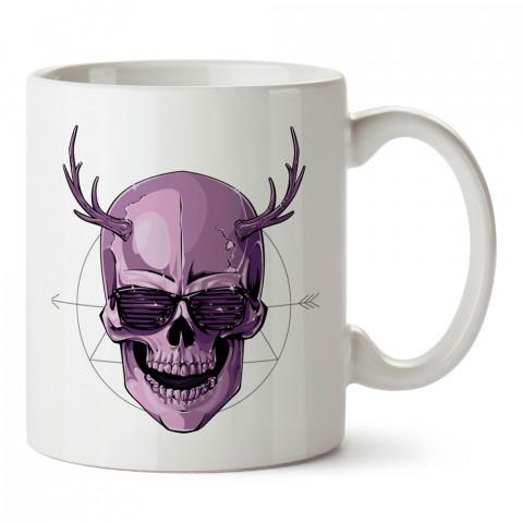 Disco Devil baskılı tasarım porselen kupa bardak (mug). Presstish marka, resimli, en güzel hediyelik kupa bardak modelleri. Tasarım kahve kupası. Baskılı mug bardak.