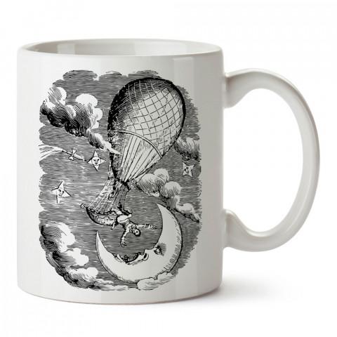 Behind My Eyes baskılı tasarım porselen kupa bardak (mug). Presstish marka, resimli, en güzel hediyelik kupa bardak modelleri. Tasarım kahve kupası. Baskılı mug bardak.