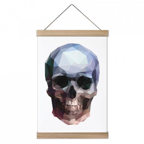 Crystal Skull Ahşap Ahşap Çerçeveli Kanvas Poster, duvar dekorasyonlarınız için harika bir seçim. Ev ve ofisleriniz bu duvar süsleriyle modern bir görünüm kazanıyor.