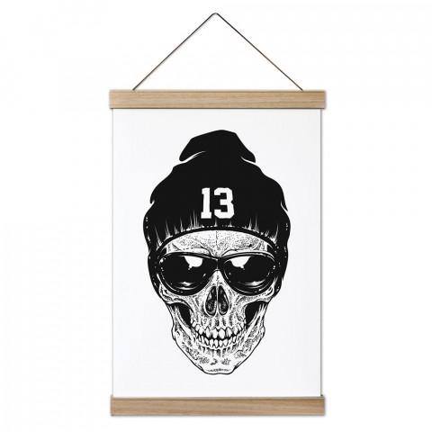 RNB Skull Ahşap Çerçeveli Kanvas Poster, duvar dekorasyonlarınız için harika bir seçim. Ev ve ofisleriniz Presstish duvar süsleri ile şık bir görünüm kazanıyor.