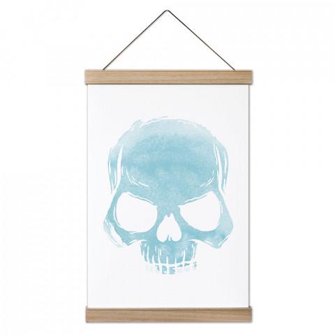 Skull Cloud (Turquoise) Ahşap Çerçeveli Kanvas Poster, dekorasyonlarınız için harika bir seçim. Ev ve ofisleriniz Presstish duvar süsleri ile şık bir görünüm kazanıyor.