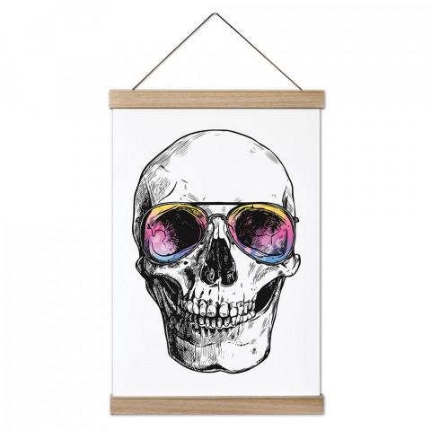 Bodrum Skull Ahşap Çerçeveli Kanvas Poster, duvar dekorasyonlarınız için harika bir seçim. Ev ve ofisleriniz Presstish duvar süsleri ile şık bir görünüm kazanıyor.