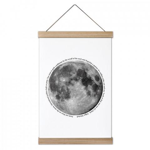 Moon Geo Ahşap Çerçeveli Kanvas Poster, duvar dekorasyonlarınız için harika bir seçim. Ev ve ofisleriniz Presstish duvar süsleri ile şık bir görünüm kazanıyor.