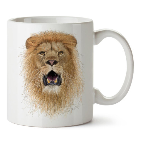 İllüstrasyon Sanatçısı Halim Yalçın'a ait Hand Draw Lion King isimli bu harika kupa bardak, sizin için sıcak ve soğuk içeceklerinizi tüketmenin en zevkli yolu olacak.