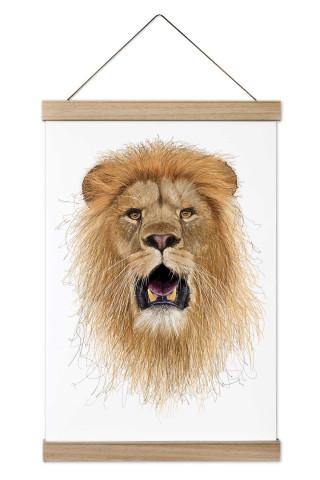 İllüstrasyon Sanatçısı Halim Yalçın'a ait Hand Draw Lion King isimli kanvas poster tablosu. Evinizin ve ofisinizin duvarlarını bu kanvas poster tablolar ile süsleyin.