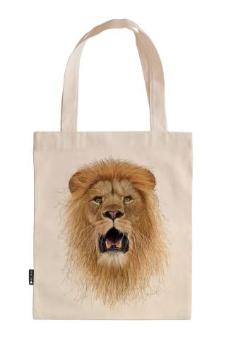 Hand Draw Lion King tasarım baskılı ham bez çanta. 35x41. Hediyelik bez çanta modelleri. En güzel bez çantalar. Dayanıklı, modaya uygun bez çantalar. Organik bez çanta.