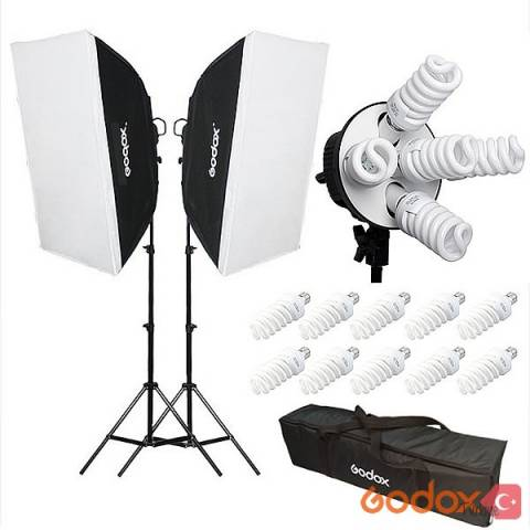 GODOX YOUTUBE 650W VİDEO IŞIK SET