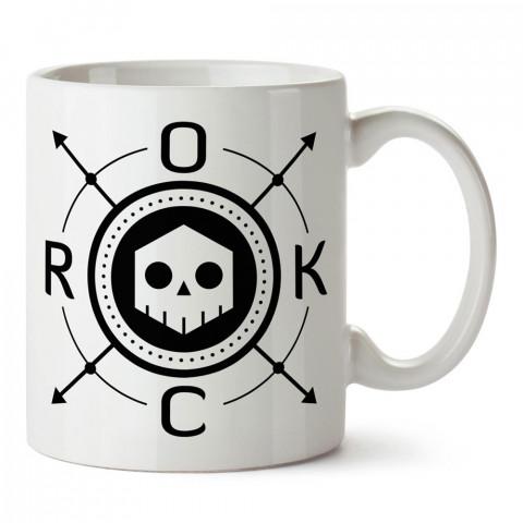 Rock Müzik ve Kuru Kafa tasarım baskılı porselen kupa bardak modelleri (mug bardak). Kahve kupası.Rock Müzik ve Kuru Kafa tasarım baskılı porselen kupa bardak modelleri (mug bardak). Rock müzik severlere en güzel hediye. Kahve kupası.