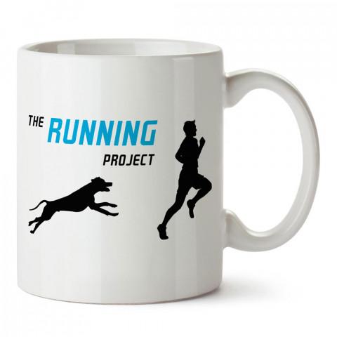The Running Project tasarım baskılı porselen kupa bardak modelleri (mug bardak). Kahve kupası.