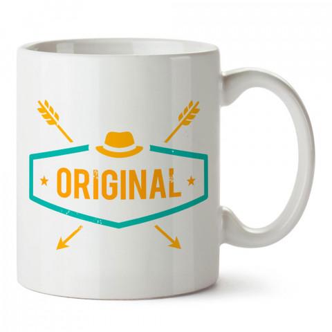 Original Hipster Yazı tasarım baskılı porselen kupa bardak modelleri (mug bardak). Hipsterlere, hipster stili sevenlere hediye. Kahve kupası.