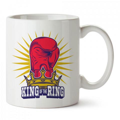 Ringlerin Kralı tasarım baskılı porselen kupa bardak modelleri (mug bardak). Dövüş, savunma, savaş sanatları ile ilgili en güzel hediye. Kahve kupası.