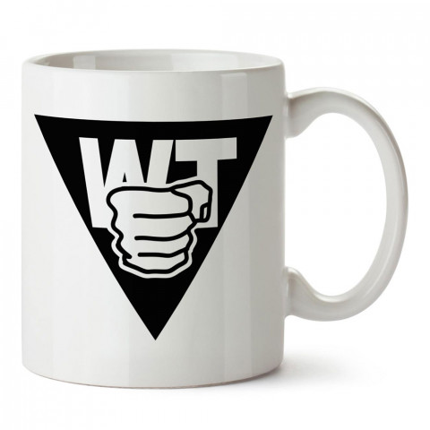 Wing Tsun Yin Yang tasarım baskılı porselen kupa bardak modelleri (mug bardak). Dövüş, savunma, savaş sanatları ile ilgili en güzel hediye. Kahve kupası.