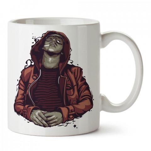 Bohemian Boy tasarım baskılı porselen kupa bardak modelleri (mug bardak). Sevdiklerinizi mutlu edecek hediyeler. Kahve kupası.