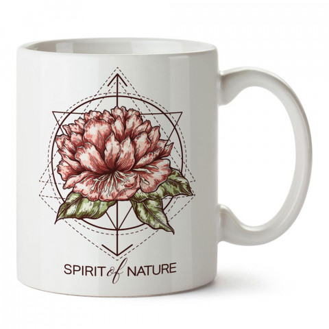 Doğanın Ruhu tasarım baskılı porselen kupa bardak modelleri (mug bardak). Sevdiklerinizi mutlu edecek hediyeler. Kahve kupası.
