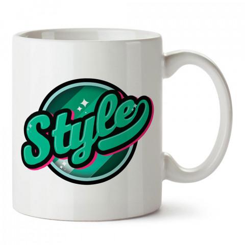 Graffiti Style tasarım baskılı porselen kupa bardak modelleri (mug bardak). Sevdiklerinizi mutlu edecek hediyeler. Kahve kupası.