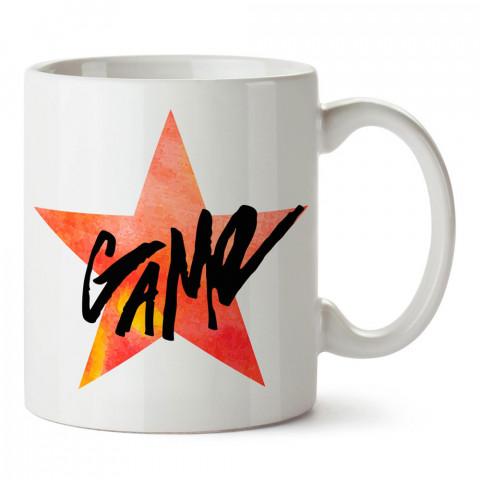 Yıldız Oyun tasarım baskılı porselen kupa bardak modelleri (mug bardak). Oyun severlere ve oyunculara en güzel hediye. Kahve kupası.