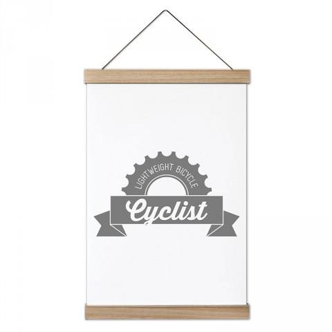 Cycler Bisikletçi tasarım dekoratif kanvas poster tablo modelleri. Bisikletçiye ve bisiklet severlere en güzel hediye modern kanvas poster duvar tabloları.