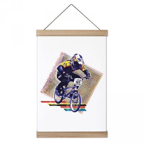 Kros Bisiklet Yarışı ahşap çerçeveli kanvas poster tablo modelleri. Bisikletçiye ve bisiklet severlere en güzel hediye modern kanvas poster duvar tabloları.