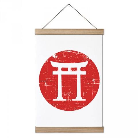 Jiu Jitsu Tapınak tasarım dekoratif ahşap çerçeveli kanvas poster tablo modelleri. Dövüşçüye en güzel hediye modern kanvas poster duvar tabloları.