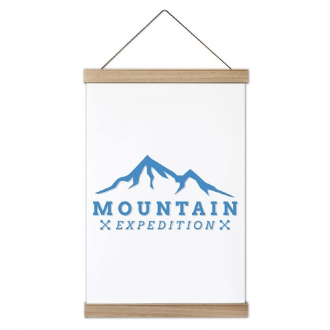 Dağcı Kaşif tasarım ahşap çerçeveli kanvas poster tablo modelleri. Dağ, tırmanış, doğa severlere ve dağcılara en güzel hediye modern kanvas poster duvar tabloları.