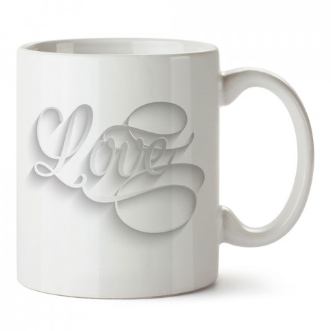 Hat Yazı Love tasarım baskılı porselen kupa bardak (mug). Sevgiliye hediye aşk içerikli kupa bardaklar. Sevgiliye en güzel hediye kupa. Sevgililer günü hediyesi kupa.