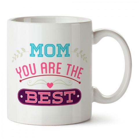 Anne Sen En İyisisin tasarım baskılı kupa bardak (mug). En güzel Anneler Günü hediyesi porselen kupa bardak. Anneye en güzel hediye kupa bardak. Anneye hediyelik kupa.