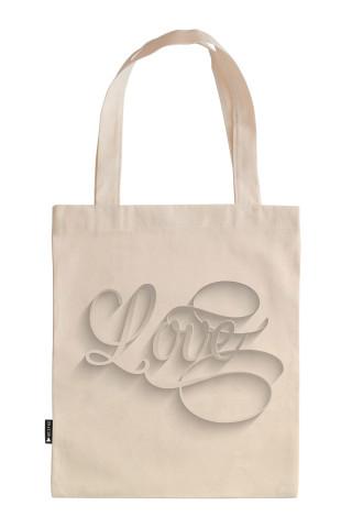 Hat Yazı Love Tasarım baskılı 35x40 ham bez çanta. Sevgiliye hediye ham bez çanta. Sevgililer günü için bez çanta. Sevgiliye bez çanta. Sevgiliye hediyelik bez çantalar.