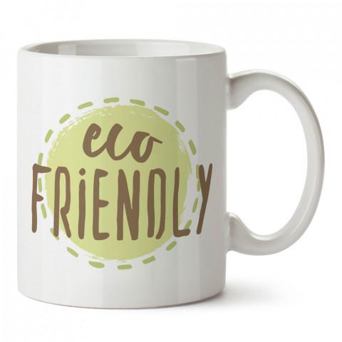 Eco Friendly Çevre Dostu tasarım baskılı kupa bardaklar. Vejetaryene ve vegana hediyelik mug bardak. Vegan tasarım kahve kupası. Vegan ve vejetaryenlere hediye fikirleri.