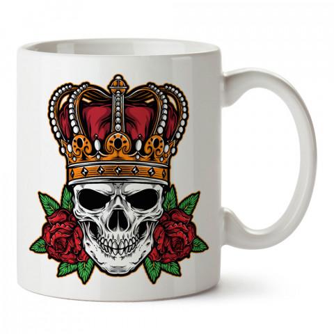 İmparator Kuru Kafa tasarım baskılı kupa bardaklar. Kuru Kafa hediyelik mug bardak. Skull tasarım kahve kupası. Kuru Kafa hediye fikirleri. Kuru Kafa resim.