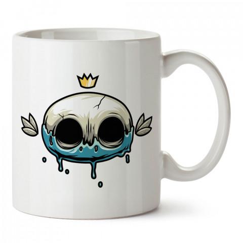 Şirin Kuru Kafa tasarım baskılı kupa bardaklar. Kuru Kafa hediyelik mug bardak. Skull tasarım kahve kupası. Kuru Kafa hediye fikirleri. Kuru Kafa resim.