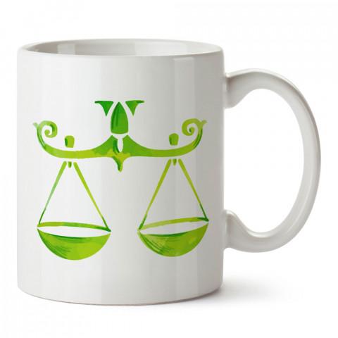 Terazi Burcu Geometrik Astroloji tasarımlı kupa bardak. Terazi burcu için Mug. Burç severlere astrolojik desenli en güzel hediyelik kupa bardaklar. Terazi burcuna hediye.