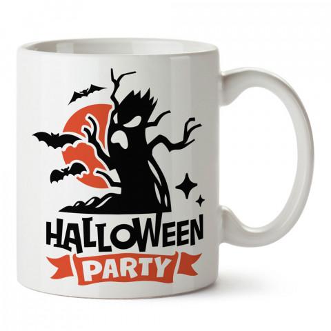 Halloween Party Cadılar Bayramı tasarım baskılı halloween kupa bardak (mug bardak). Cadılar Bayramına özel hediyeler. Cadılar bayramı hediyesi. Halloween hediyesi.