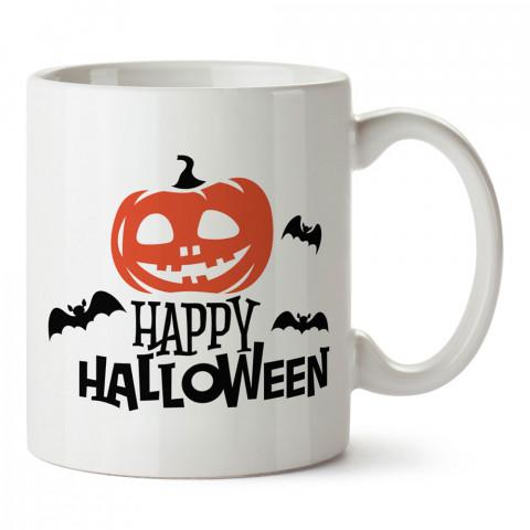 Happy Halloween Cadılar Bayramı tasarım baskılı halloween kupa bardak (mug bardak). Cadılar Bayramına özel hediyeler. Cadılar bayramı hediyesi. Halloween hediyesi.